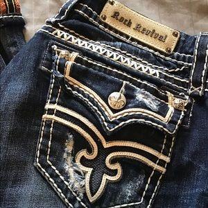 Rock Revival Essie Capri 31 Women's Jeans 💫